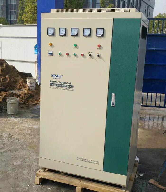 SBW-300KVA大功率稳压器安装现场
